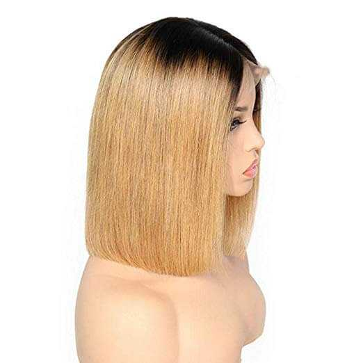 Black to Brown Ombre Straight Hair
