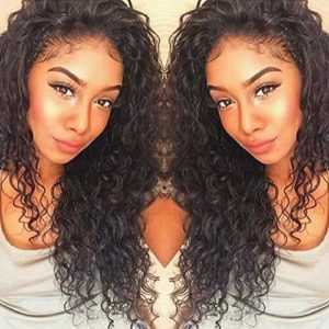 Curly Wigs for Black Women - Curly Human Hair Lace Front Wig