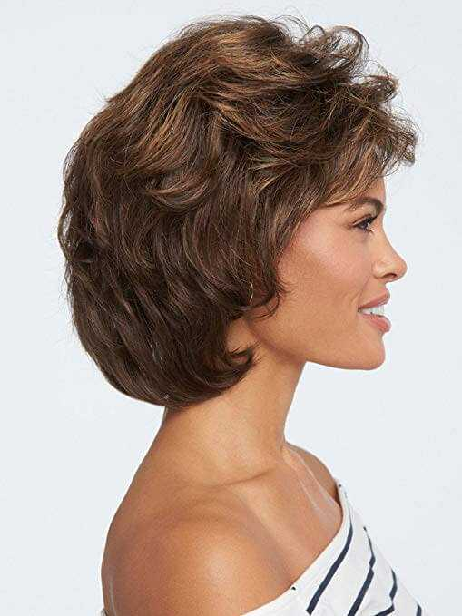Layered Pageboy Cut Short Ombre Wig