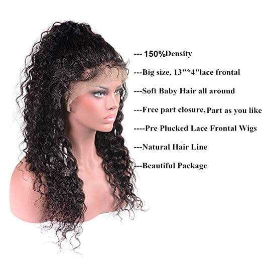 Brazilian Water Wave Lace Front Wig