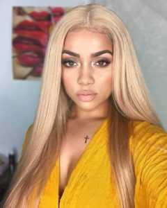 Black Wigs That Look Real - Fiber Black Full Lace Wig