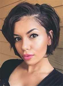 5. SHANELL 8A Straight Bob Style Lace Front Wig -Bob Wigs for Black Women