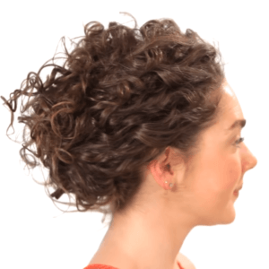 9. Pinned Up Curls