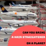 Can you bring a hair straightener on a plane