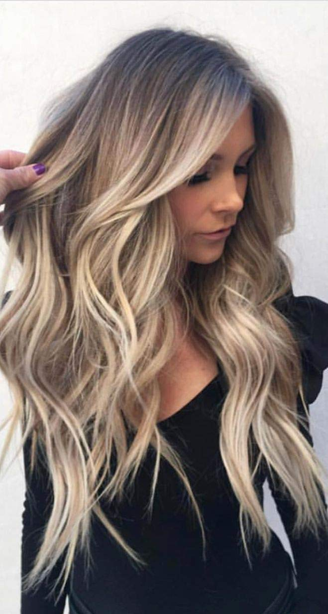 Full Shine Ombre Front Wig